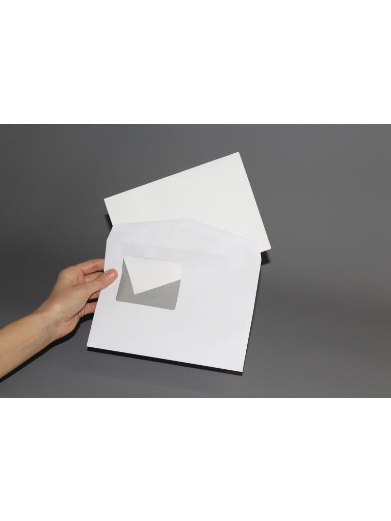 A4-kirje 2-puoleinen kuorella